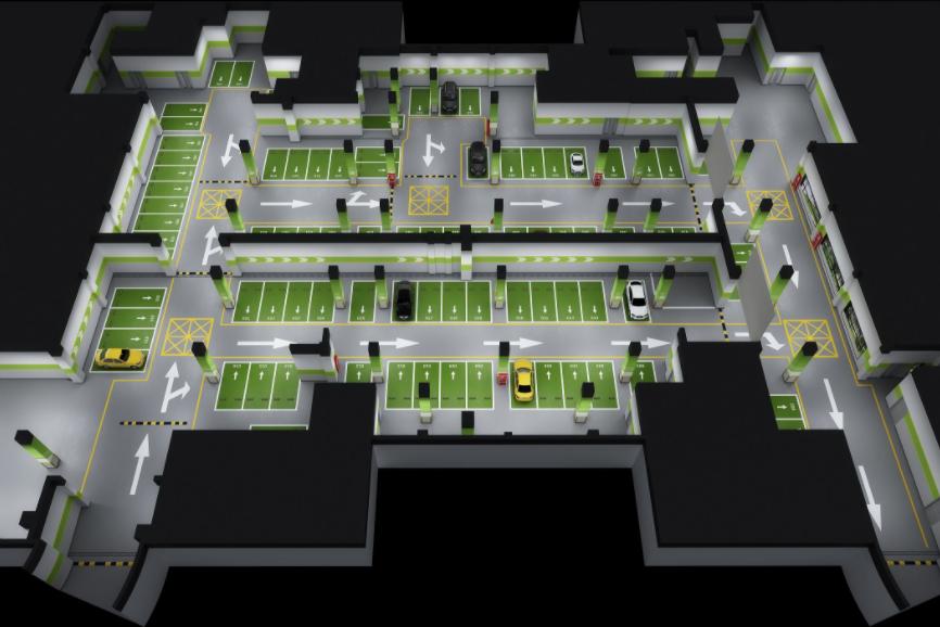 河北地下停车场方案设计