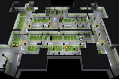 地下停车场方案设计